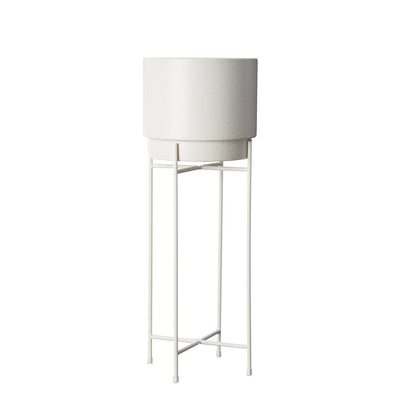 MILK & SUGAR - Pot Stand, Medium White