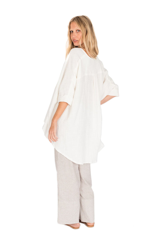 THE BARE ROAD - Elka Top, White