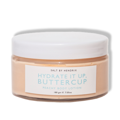 "SALT BY HENDRIX - ""Hydrate It Up, Buttercup"", Peachy Body Lotion - Makers On Mount"