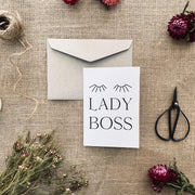 OLIVIA WESTCOTT CREATIVE - Blank Card, Lady Boss