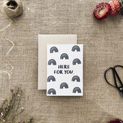 OLIVIA WESTCOTT CREATIVE - Blank Card, Here For You