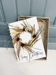 OLIVIA WESTCOTT CREATIVE - Blank Bouquet Card, Merry Christmas