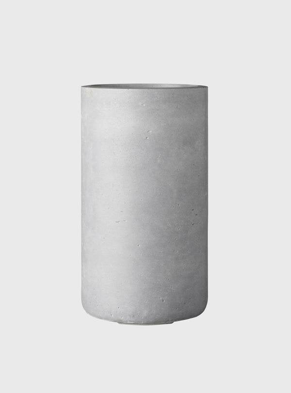 EVERGREEN COLLECTIVE - Sammy Planter Small, Light Grey