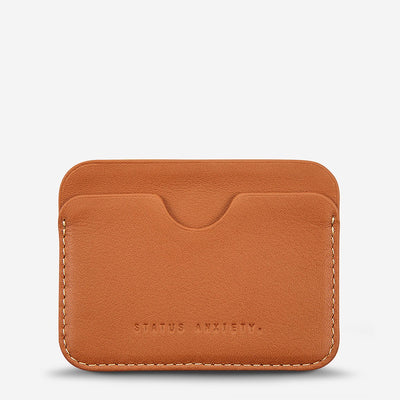 STATUS ANXIETY - Gus Wallet, Camel - Makers On Mount