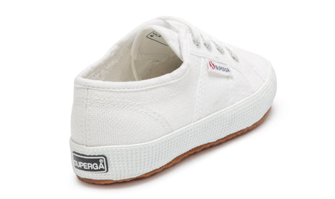 SUPERGA - 2750 Jcot Classic KIDS, White - Makers On Mount