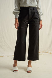ARTHUR - A Line Pant, Ebony - Makers On Mount