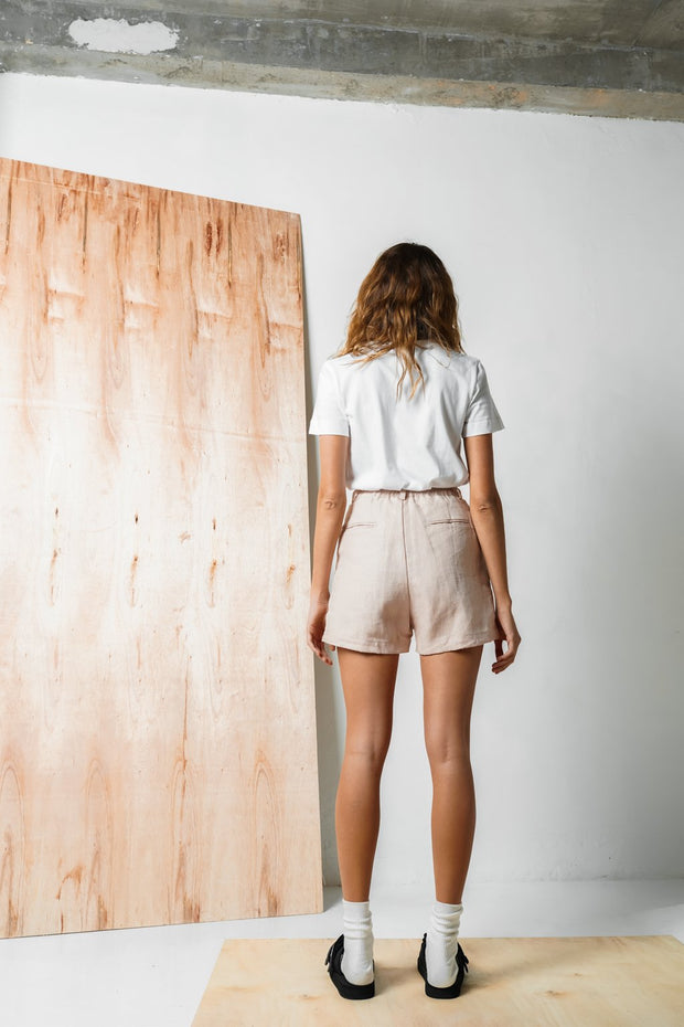 ARTHUR - Tailored Short, Blush