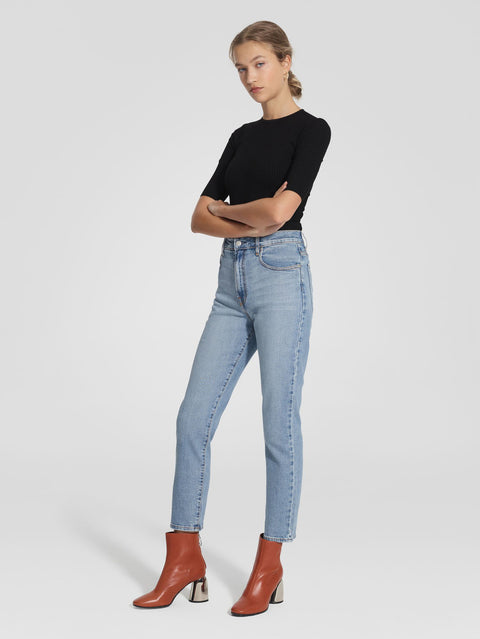 NOBODY DENIM - Frankie Jean Ankle, Stretch Soulmate - Makers On Mount
