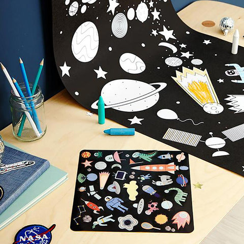 OLLI ELLA - Playpa Stickers, Space - Makers On Mount