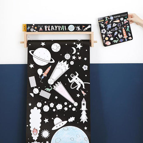 OLLI ELLA - Playpa Stickers, Space