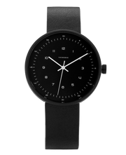 THE HORSE - The Minimal Watch, Black,Black - Makers On Mount