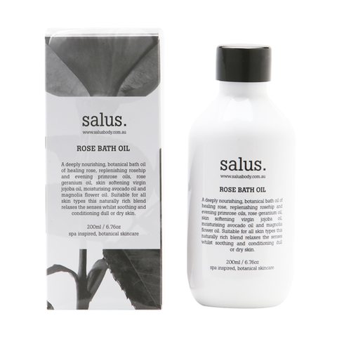 SALUS - Rose Bath Oil - Makers On Mount