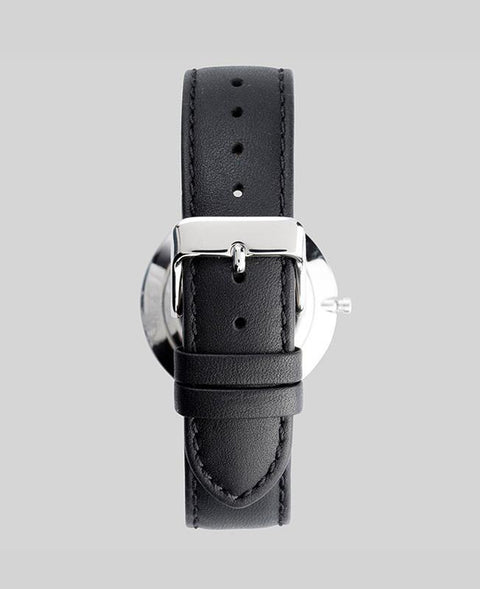 THE HORSE - The Classic Watch, Black/Silver