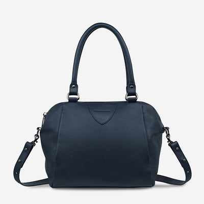 STATUS ANXIETY - Force of Being Bag, Navy Blue