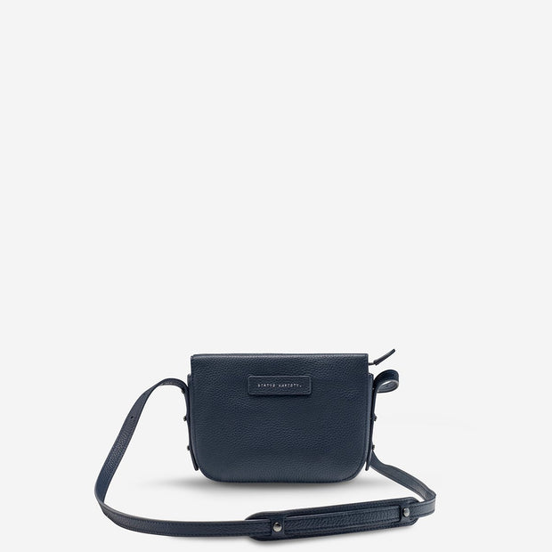 STATUS ANXIETY - In Her Command Bag, Navy Blue