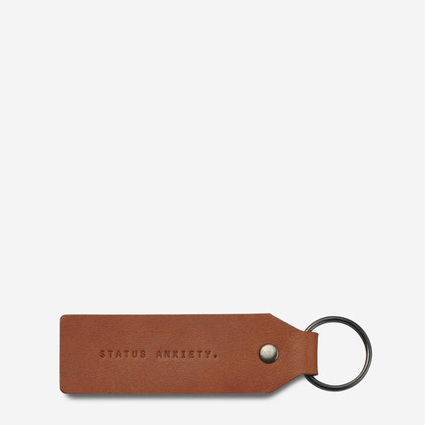 STATUS ANXIETY - If I Stay Keyring, Camel