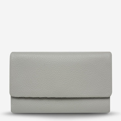STATUS ANXIETY - Audrey Wallet, Pebble Grey