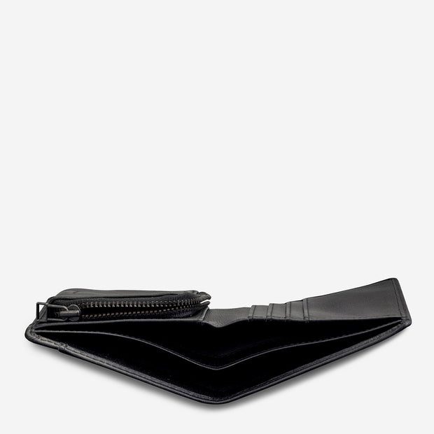 STATUS ANXIETY - Clifford Wallet, Black - Makers On Mount