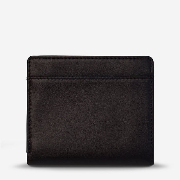 STATUS ANXIETY - Clifford Wallet, Chocolate