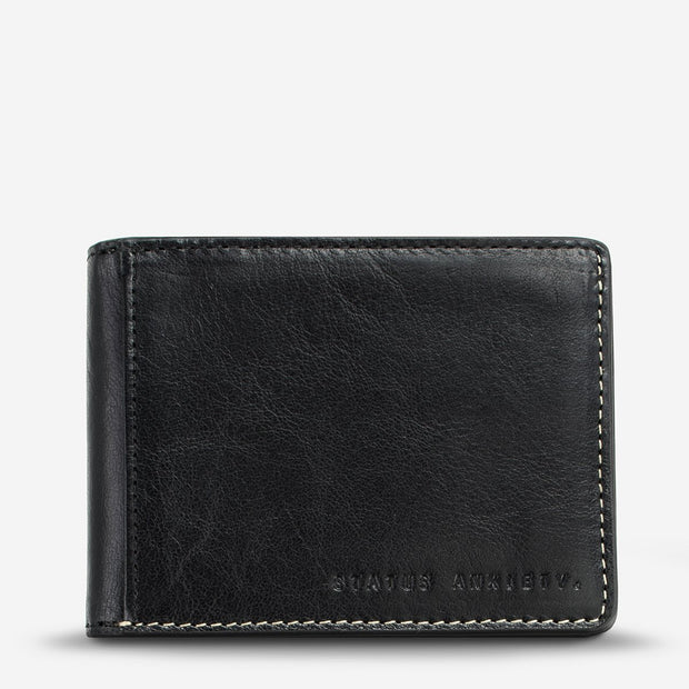 STATUS ANXIETY - Ethan Wallet, Black