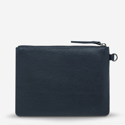 STATUS ANXIETY - Fixation Clutch, Navy Blue