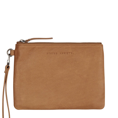 STATUS ANXIETY - Fixation Clutch, Tan