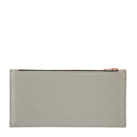 STATUS ANXIETY - In the Beginning Wallet, Light Grey