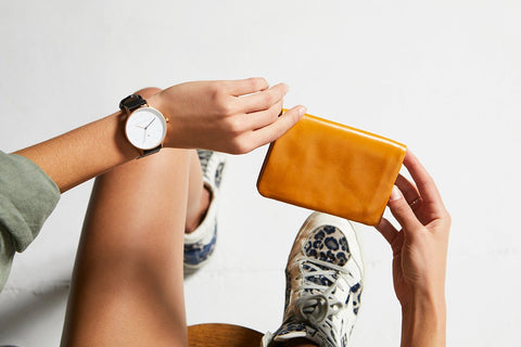 STATUS ANXIETY - Is Now Better, Wallet, Tan - Makers On Mount