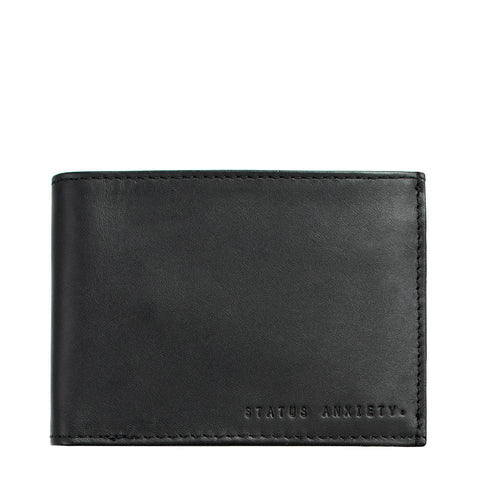 STATUS ANXIETY - Noah Wallet, Black - Makers On Mount