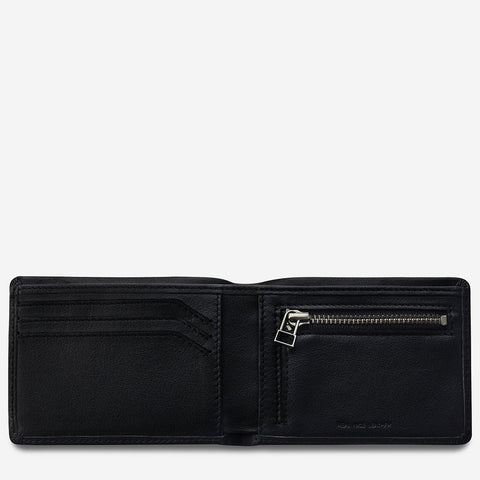 STATUS ANXIETY - Otis Wallet, Black - Makers On Mount