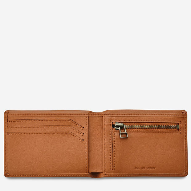 STATUS ANXIETY - Otis Wallet, Camel - Makers On Mount