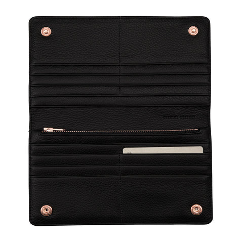 STATUS ANXIETY - Triple Threat Wallet, Black