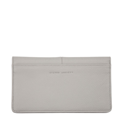 STATUS ANXIETY - Triple Threat Wallet, Light Grey