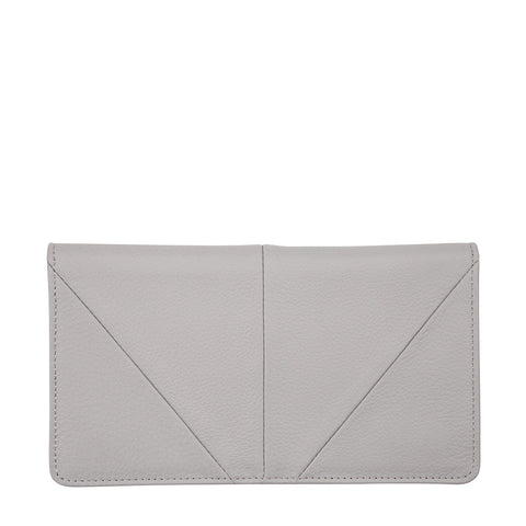 STATUS ANXIETY - Triple Threat Wallet, Light Grey - Makers On Mount
