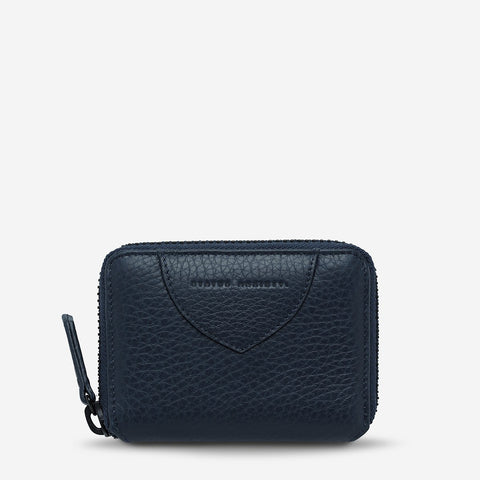 STATUS ANXIETY - Wayward Wallet, Navy Blue