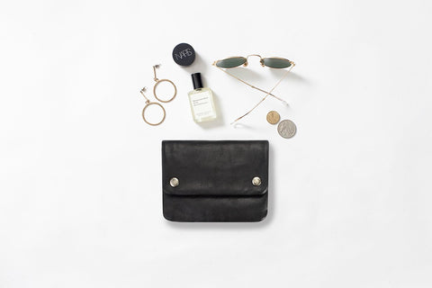 STATUS ANXIETY - Norma Wallet, Black - Makers On Mount