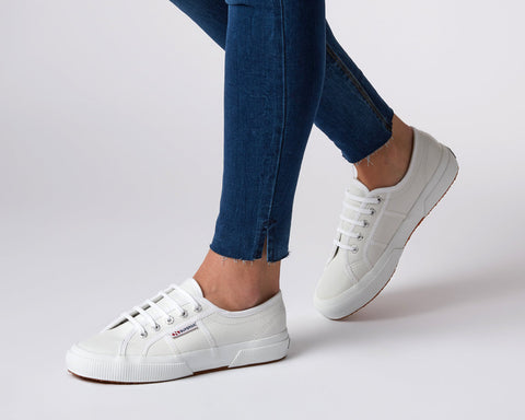 SUPERGA - 2750 Efglu Leather, White
