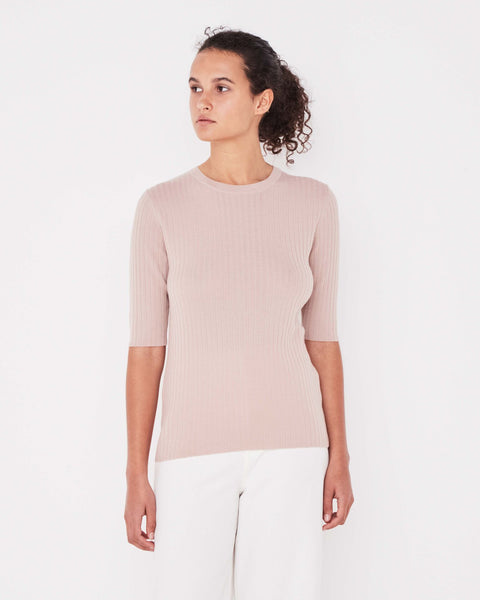 ASSEMBLY LABEL - Ella Knit, Dusty Pink - Makers On Mount