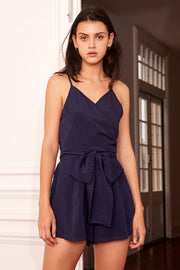 THE FIFTH - Gilded Playsuit, Navy
