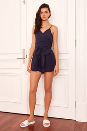 THE FIFTH - Gilded Playsuit, Navy - Makers On Mount
