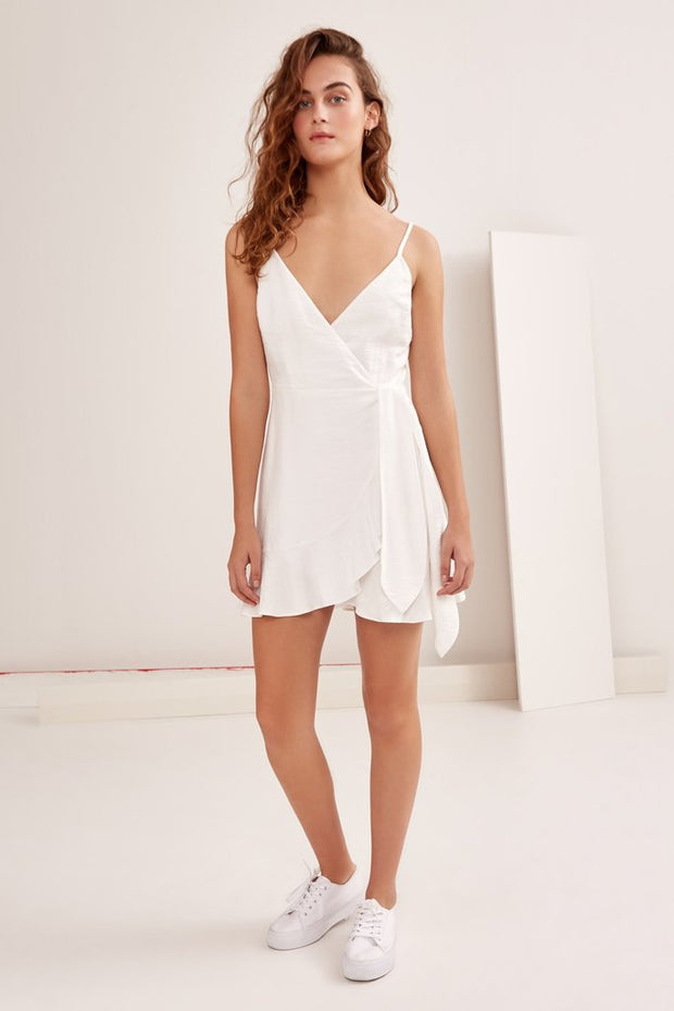 THE FIFTH - Soulmate Wrap Dress, Ivory
