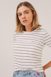 THE FIFTH - Dearest Stripe T-Shirt