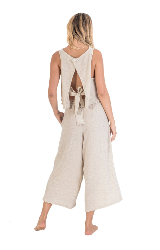 THE BARE ROAD - Tour Beach Pant, Natural