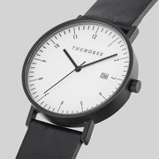 THE HORSE - D Series Watch, Black/Black