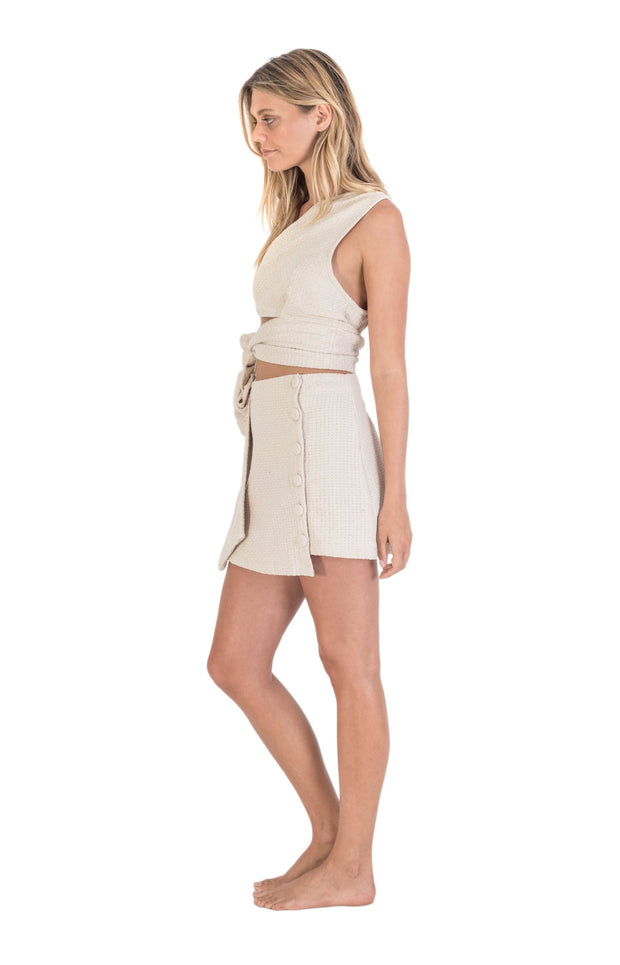 THE BARE ROAD - Wild Skirt, Natural Beige