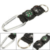 Carabiner Compass With Thermometer