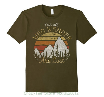 """Not All Who Wander Are Lost"" T-Shirt"