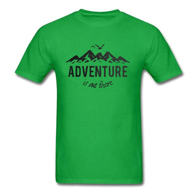 """Adventure Is Over There"" T-Shirt"