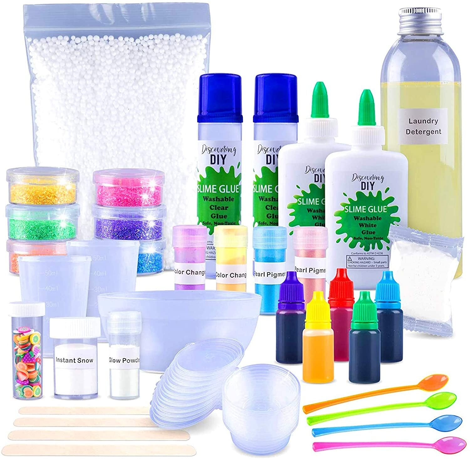Ultimate DIY Slime Kit for Girls and Boys | Slime Kits | Slime Stuff | Slime Making Kit | Slime Supplies Kit