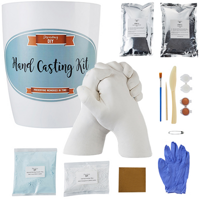 Hand Casting Kit with Masks, Gloves, Paints & Tools Included | Most Complete Hand Molding Kit Available | Casting Kit | Hand Casting | Hand Mold